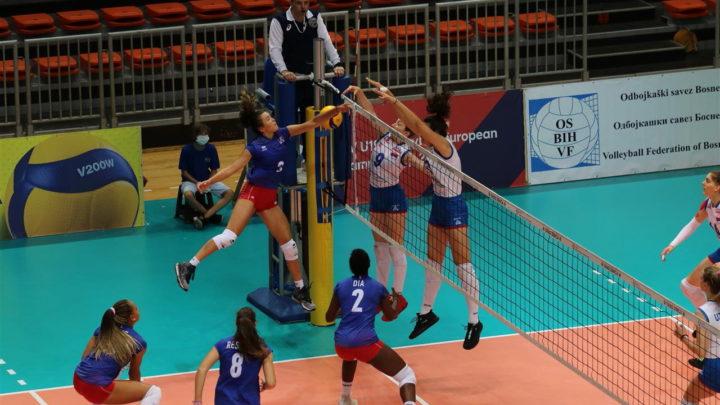 EuroVolley 19F 2020 : Les jeunes françaises joueront la médaille de bronze contre la Biélorussie