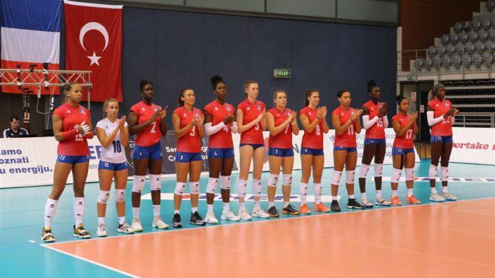 EuroVolley U19F 2020 : L'Equipe de France Féminine U19 bat la Turquie et termine première de sa poule