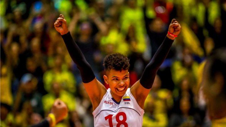 Les ambitions internationales de l'Equipe de Colombie par la voix de la joueuse du VCMB-LM, Margarita Martinez