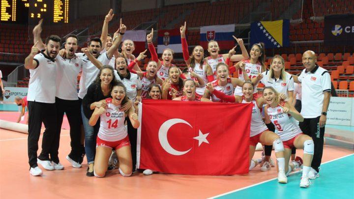 EuroVolley U19F 2020 : Après un tie-break, la Turquie obtient l'or, la Serbie l'argent