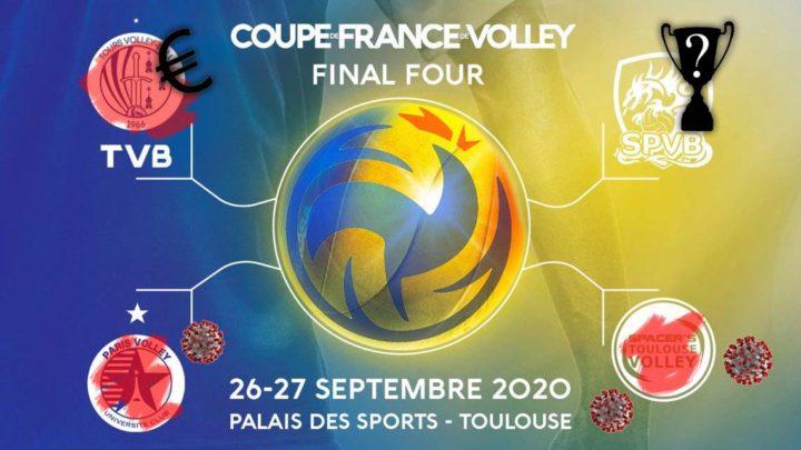 Coupe de France Masculine 2020 : Le Final Four annulé, Poitiers vainqueur par défaut, Tours condamné par sanction