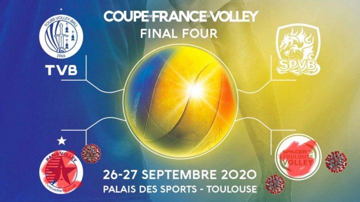 Pas de demi-finale de la Phase Finale de la Coupe de France Masculine 2020 et la finale est encore en suspens !