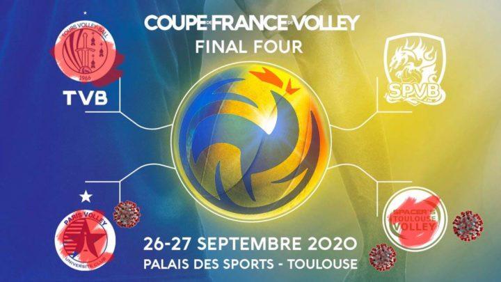 La FFVolley relaie le forfait de Tours Volley-Ball à la Finale de la Coupe de France en lui répondant au passage