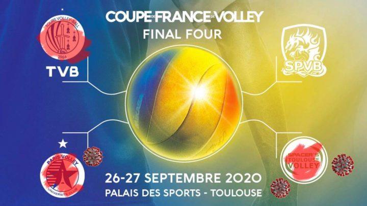 Tours Volley-Ball ne jouera pas la Finale de la Coupe de France à Toulouse