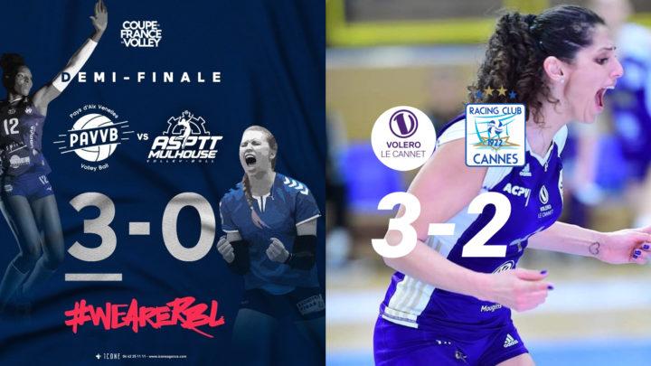 Une finale de Coupe de France inédite : PAVVB vs Volero Le Cannet