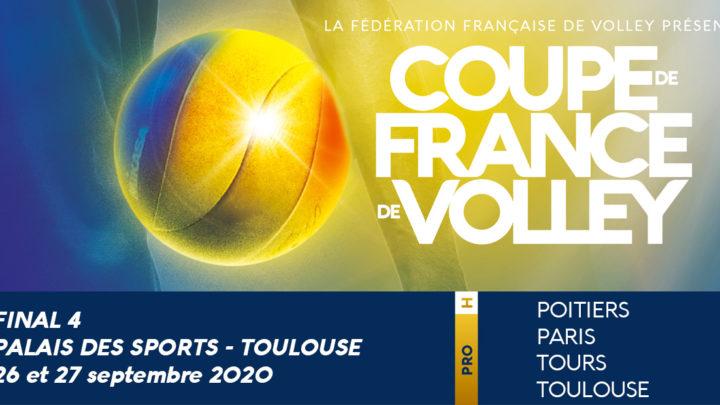 Les Phases Finales de la Coupe de France Masculine arrivent à Toulouse ce samedi 26 septembre