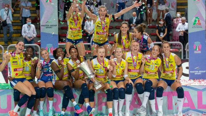 Supercoupe Féminine d'Italie : Imoco Volley garde sa couronne pour la troisième année consécutive