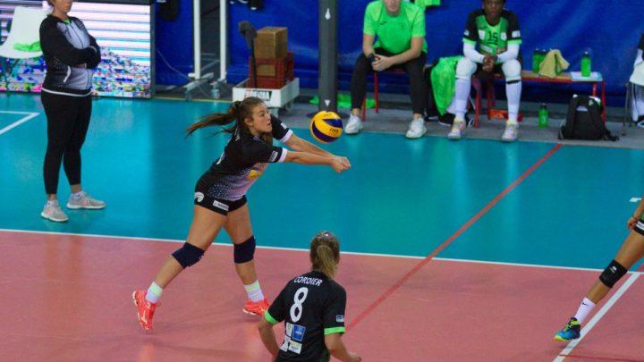 Lumière sur Caroline Clément, libero au Volley-Club Harnésien