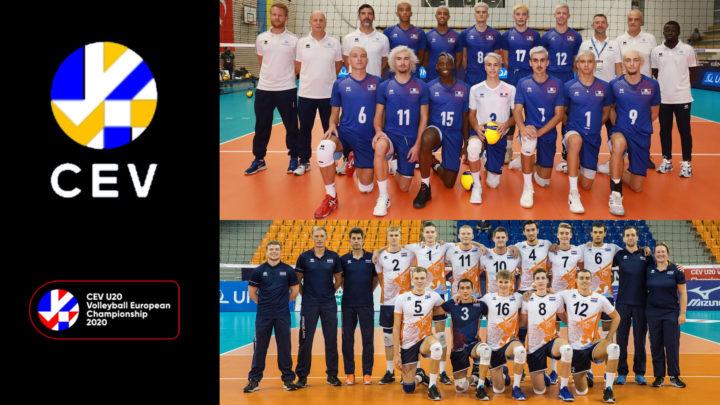 EuroVolley U20M 2020 : La France arrache la 5ème place aux Pays-Bas