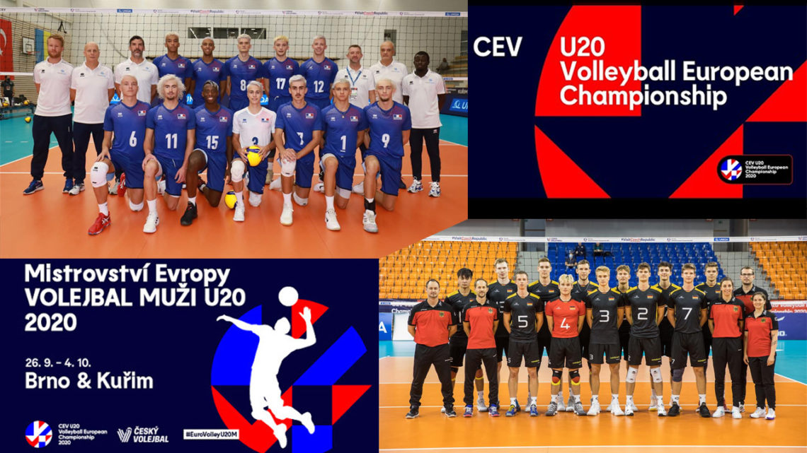EuroVolley U2OM 2020 : La France gagne son match contre l'Allemagne au tie-break