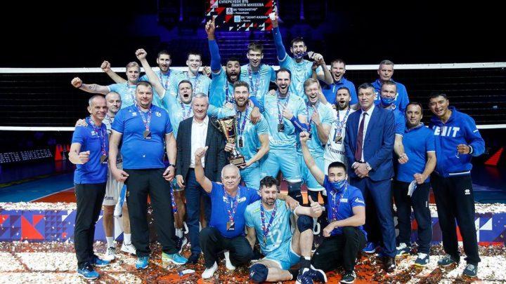 Earvin Ngapeth avec le Zenit Kazan remporte la SuperCoupe de Russie