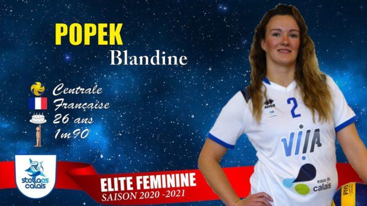 DEF : La Centrale Blandine Popek (Stella ES Calais) a tout d'une Grande !