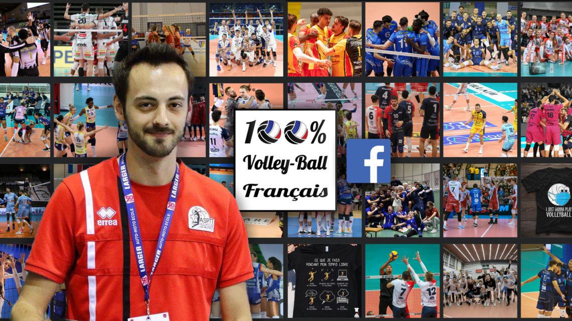 """Bastien de 100% Volley-Ball Français : """"Je vais arrêter de chercher à promouvoir le volley"""""""