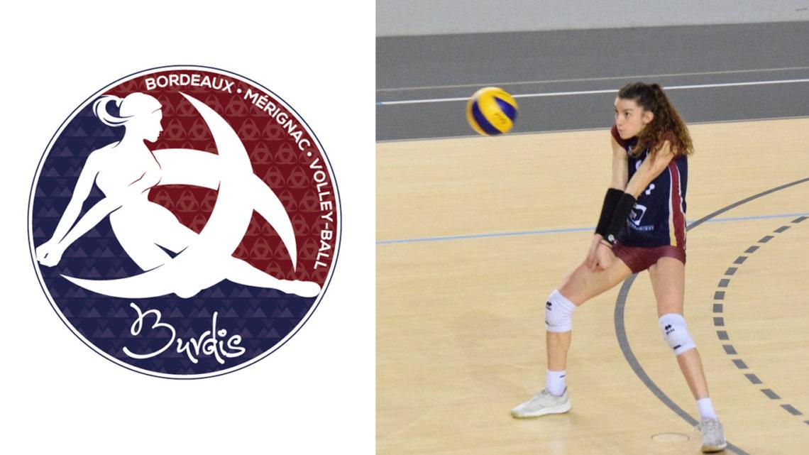 "DEF : Le Volley-Ball est ""une Histoire de famille"" chez Clara Martin"
