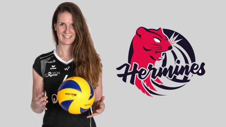 """DEF : Floriane Prévert, """"Une fidélité à toute épreuve"""" au Rennes Etudiants Club Volley Féminin"""