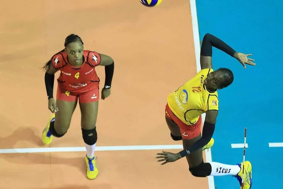 DEF : Fawziya Abdoulkarim, une Lionne à l'Entente de St Chamond Volley.