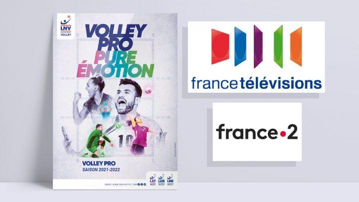 France Télévision diffusera le Volley Pro Saison 2021-2022 de la LNV