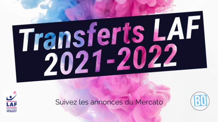 [LAF] Transferts et Rumeurs 2021-2022