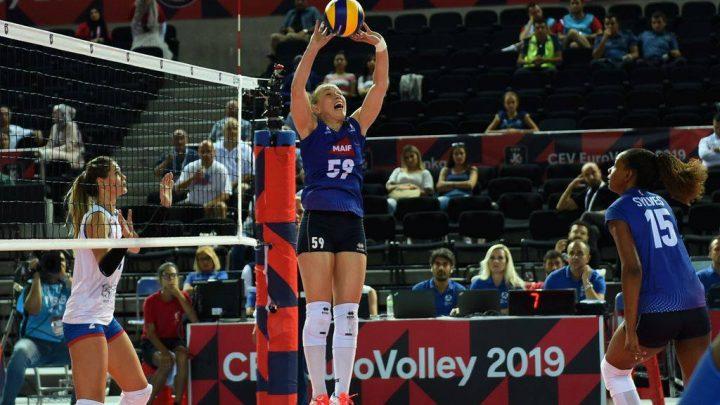 DEF : Mallory Caleyron-Steux, loin des projecteurs, rayonne toujours sur le terrain du Levallois Sporting Club Volley.