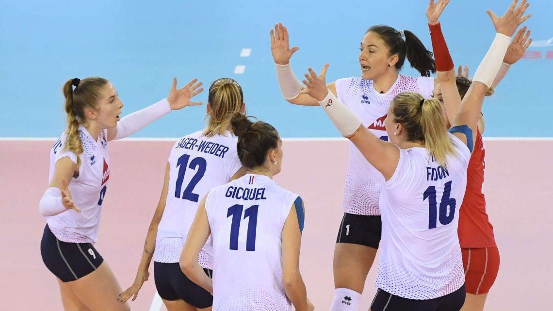 L'Equipe de France Féminine bute au tie-break contre la Hongrie au TQCE à Belfort