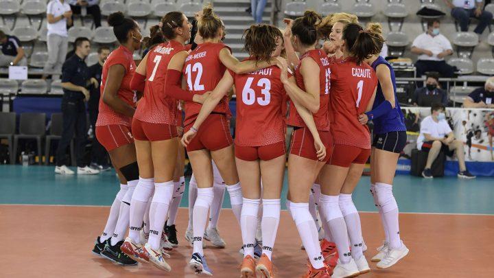 L'Equipe de France Féminin défait facilement l'Equipe d'Israel au TQCE