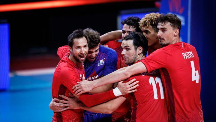 La France débute la VNL 2021 par une belle victoire sur la Bulgarie