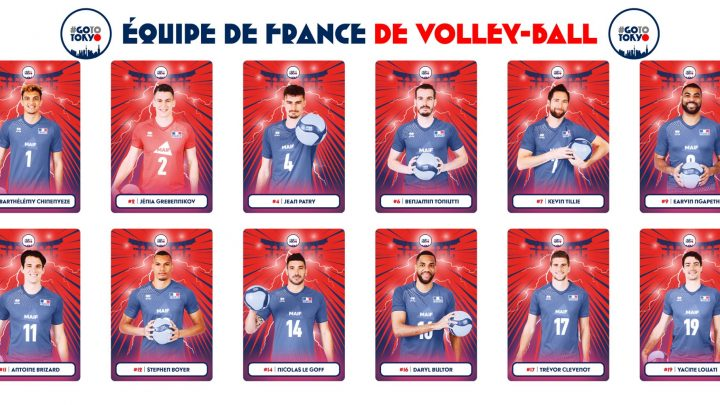 JO Tokyo : Les 12 joueurs de l'Equipe de France ont été dévoilés