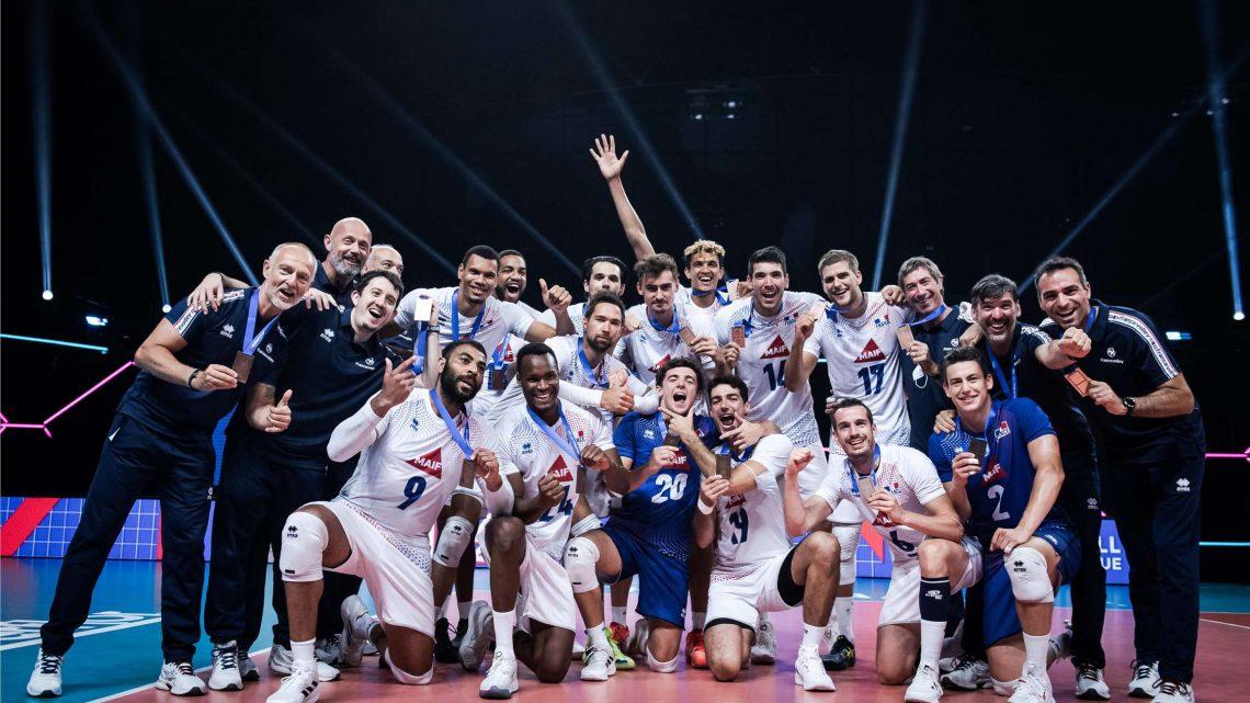 VNL 2021 : La France remporte le bronze