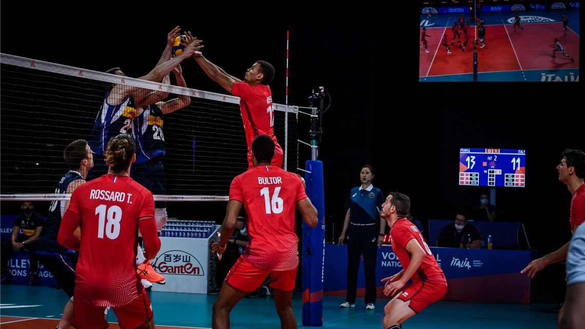 VNL 2021 : Battue au tie-break par l'Italie, la France n'est plus certaine d'aller au Final Four