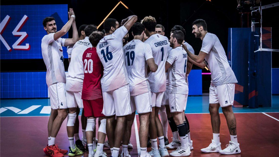VNL 2021 : La France bat la Pologne et se qualifie pour le Final Four !