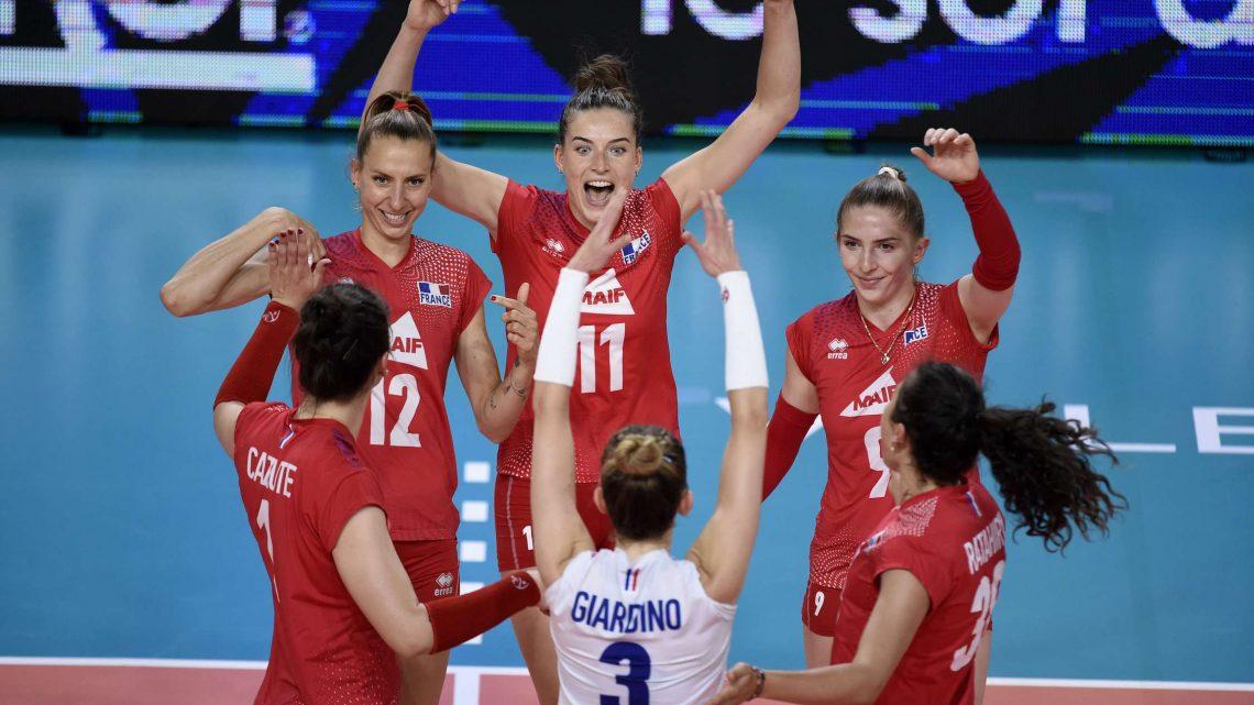 Golden League 2021 : L'Equipe de France Féminine prend sa revanche sur la Roumanie en un minimum de sets