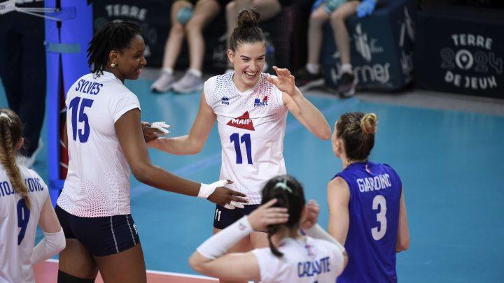 Golden League 2021 : L'Equipe de France Féminine bat en 3 sets l'Azerbaijan