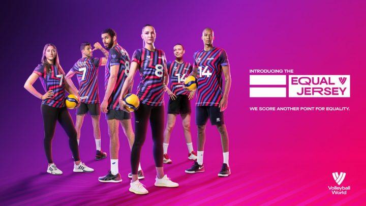 La FIVB défend l'égalité des sexes et lance l'Equal Jersey (le Maillot de l'Egalité)