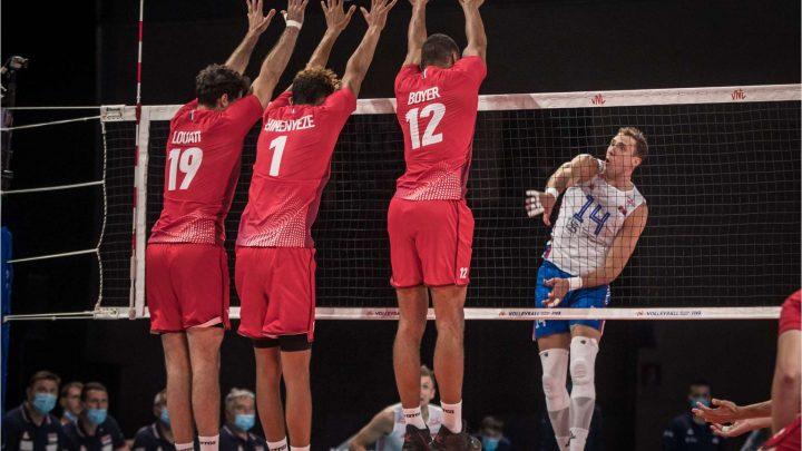 VNL 2021 : La France s'incline au tie-break devant la Serbie