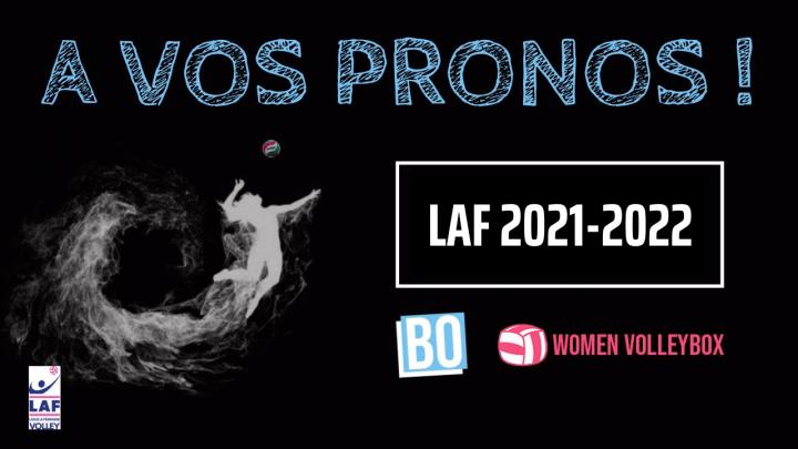 LAF 2021-2022 – A vos Pronos !